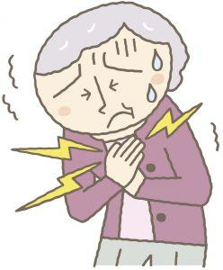 不安感による動悸