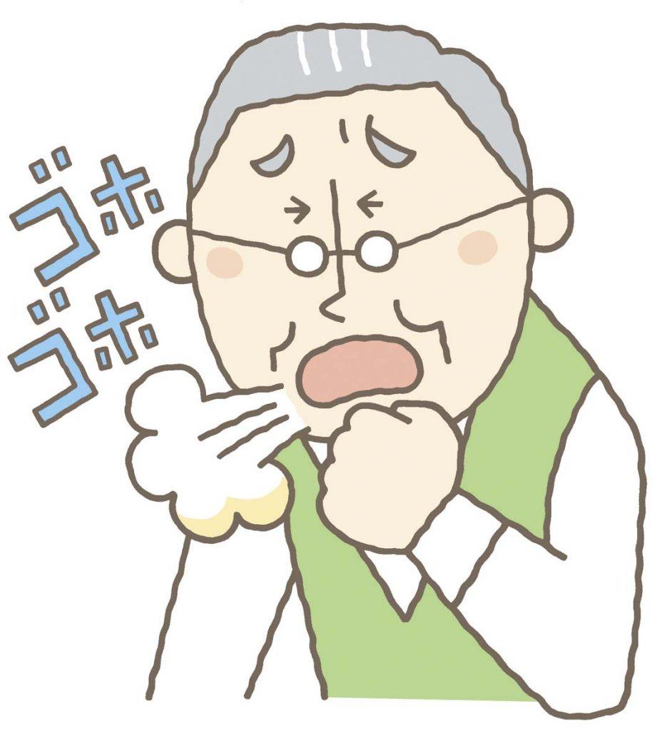 高齢者の咳・痰・鼻乾燥