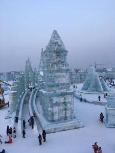 ハルピン便り 雪のハルピン