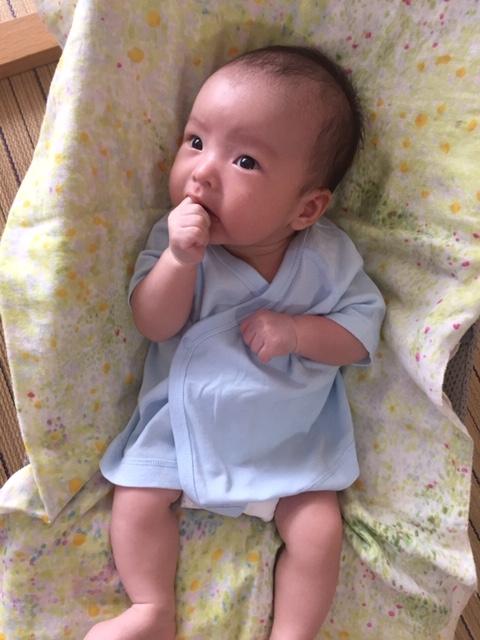 赤ちゃんは凄いパワー