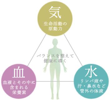 「東洋医学 気・血・水」の画像検索結果